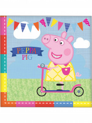 16 Servilletas papel Peppa Pig™