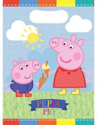 6 Bolsas de fiesta Peppa Pig™