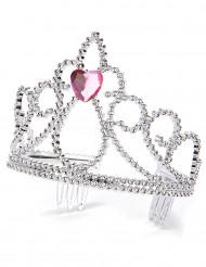 Diadema princesa corazón adulto y niño