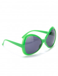 Gafas disco adulto verde