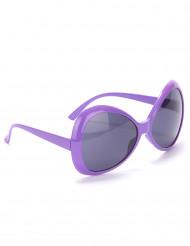 Gafas disco adulto violeta