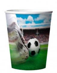 4 Vasos de fútbol 266 ml