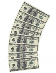 10 Servilletas de papel Dólar