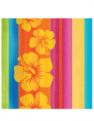 16 Servilletas papel Hawái 33x33 cm