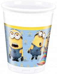8 Vasos de plástico lovely Minions™ 200 ml