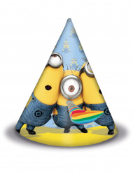 6 Sombreros de fiesta lovely Minions™