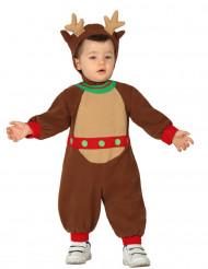 Disfraz reno bebé Navidad