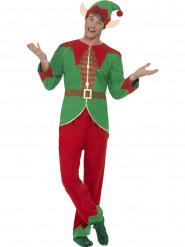 Disfraz elfo mágico hombre Navidad