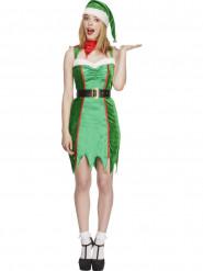 Disfraz elfo sexy mujer Navidad
