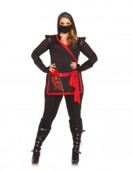 Disfraz de ninja asesino mujer