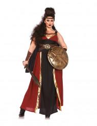 Disfraz de guerrera griega mujer