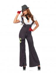 Disfraz gángster mujer