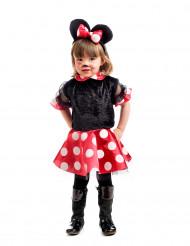 Disfraz ratona negra niña