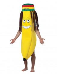 Disfraz plátano rasta adulto