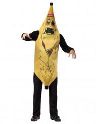 Disfraz de banana zombie adulto