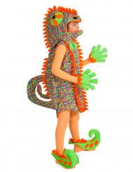 Disfraz de camaleón niño