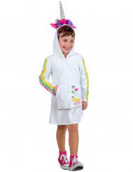 Disfraz de unicornio niña