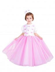 Disfraz de princesa rosa niña - Premium