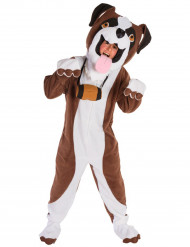 Disfraz de perro San Bernardo adulto - Premium