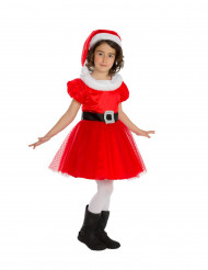Disfraz de Mamá Noel niña - Premium