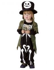 Disfraz esqueleto de la noche niño Halloween