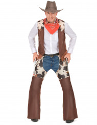 Disfraz de vaquero para hombre Western