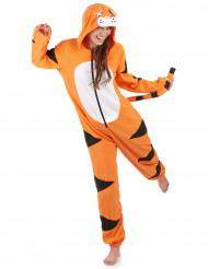 Traje de tigre con capucha mujer