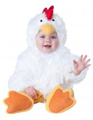 Disfraz de gallina para bebé - Lujo