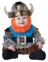 Disfraz de vikingo barbudo para bebé-Lujo