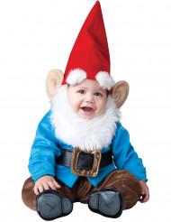 Disfraz gnomo de jardín para bebé-Lujo