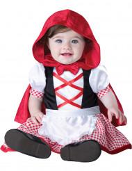 Disfraz mini caperucita roja para bebé- Clásico