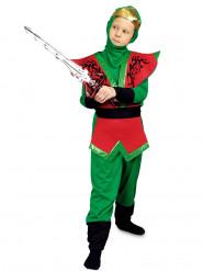 Disfraz de Ninja rojo y verde