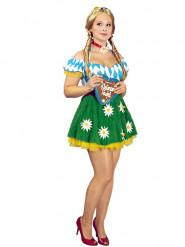 Disfraz de bávara margarita mujer Oktoberfest