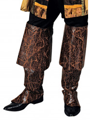 Cubre botas pirata marrón