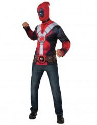 Disfraz camiseta con capucha Deadpool™