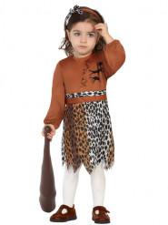 Disfraz de cavernícola niña bebé