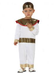 Disfraz egipcio blanco Bebé