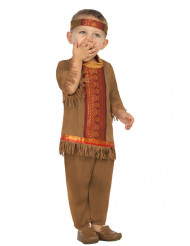 Disfraz indio con flecos bebé