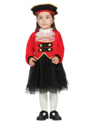 Disfraz de comandante pirata para bebé