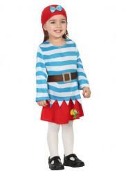 Disfraz de grumete pirata bebé