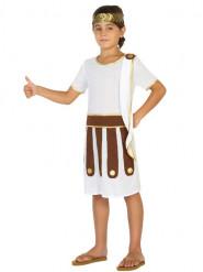 Disfraz romano blanco niño