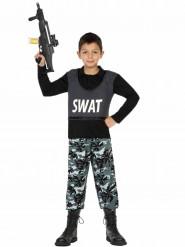 Disfraz militar SWAT niño