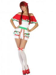 Disfraz pantalón corto mejicano