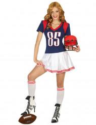 Disfraz de jugador de fútbol americano mujer