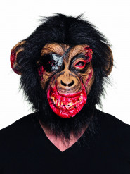Máscara látex de mono sangriento
