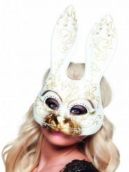 Antifaz veneciano conejo adulto