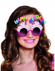 Gafas Happy Birthday adulto