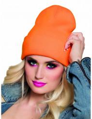 Gorro naranja Fluo adulto
