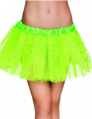 Tutú verde brillante mujer