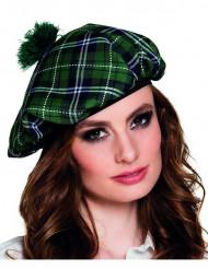 Boina escocesa mujer